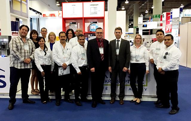 A.KRÜSS Managing Director Thomas Schmauck with the Antoeli trade fair team