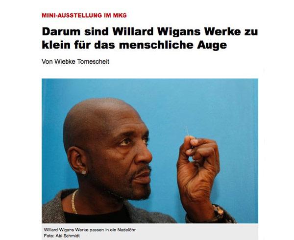 Willard Wigan article