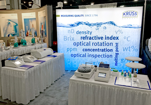 The A.KRÜSS stand at PITTCON 2016