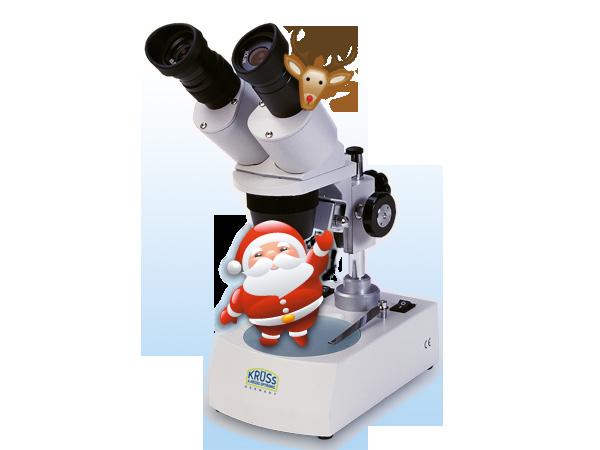 Buy a KRÜSS microscope as a gift