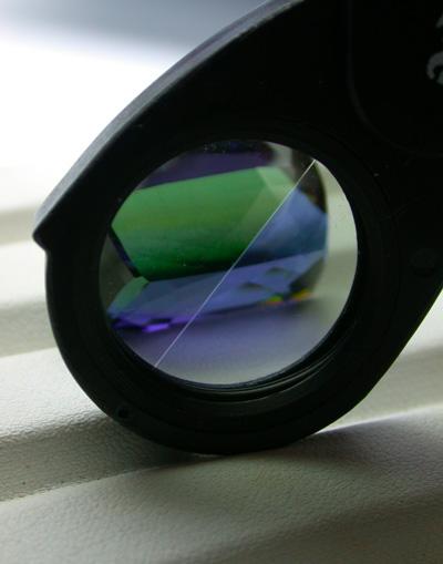 Pleochroism - seen with a dichroscope