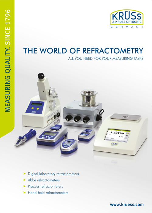 A.KRÜSS with 'WORLD OF REFRACTOMETRY' at analytica 2016