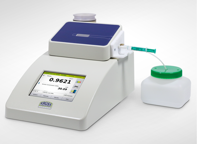 Inyección de muestras con jeringa