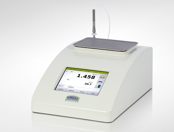 Gas analyser of the MAT1000 series
