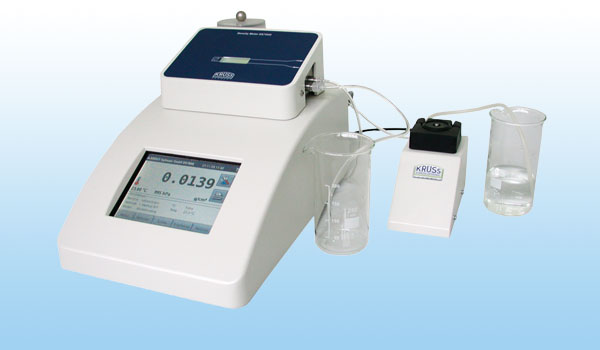 <b>DS7800 Density Meter</b><br />Features all important settings visible on screen, and stored in a SQL database