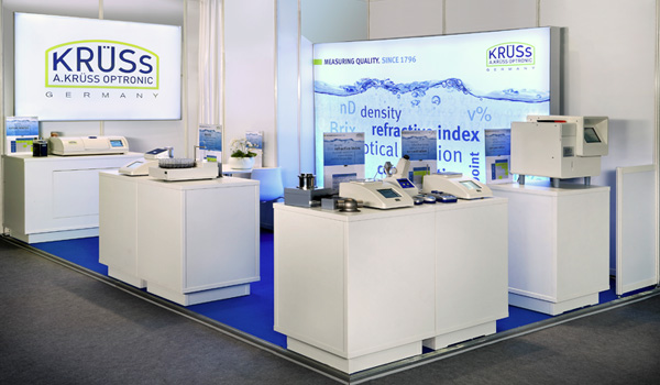 <b>A.KRÜSS Optronic presenting innovative new features at ACHEMA 2015</b><br />