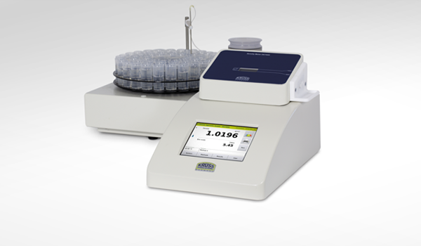 <b>Density meters of the DS7000 series with autosampler AS90</b><br />Fast, reliable measurements using the oscillating U-tube method