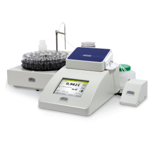 Density meter DS7800 with fully automatic sample feed