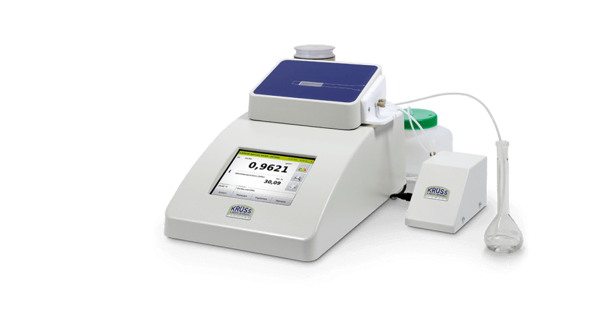 Density meter DS7800 with semi-automatic sample feed