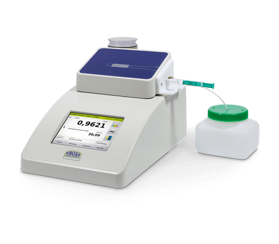 Density meter DS7800 with manual sample feed