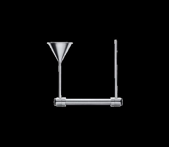 Polarimeter stainless steel measuring tube PRM-100-D