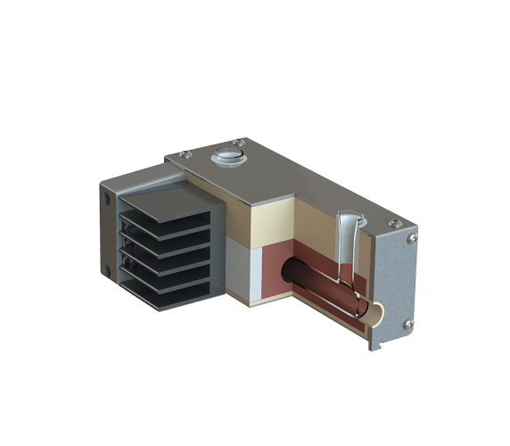 Aufbau Polarimeter Glas-Messröhre PRG-100-EPT