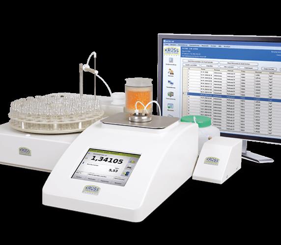 Refraktometer DR6300-TF für vollautomatische Probenzufuhr