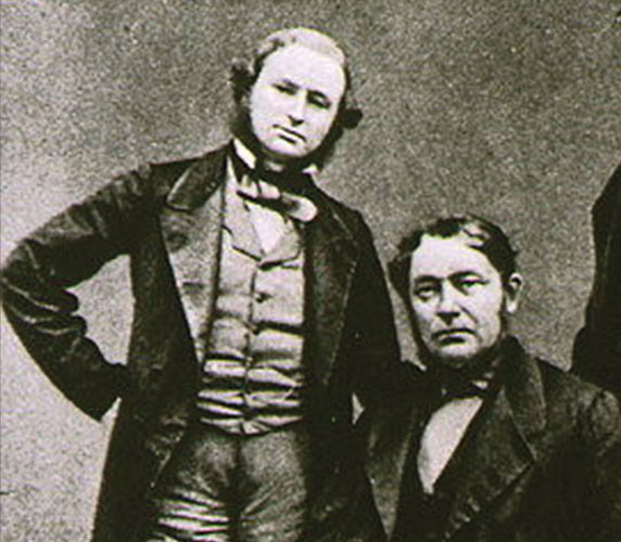 Gustav Kirchhoff and Robert Bunsen