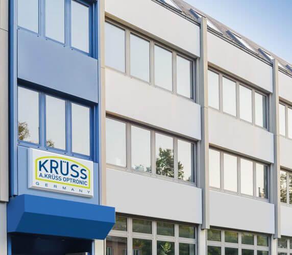Gebäude A.KRÜSS Arbeiten bei KRÜSS