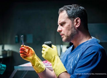Moritz Bleibtreu plays the forensic scientist Paul Herzfeld