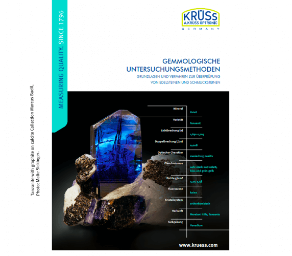 Cover Gemmologie Publikation