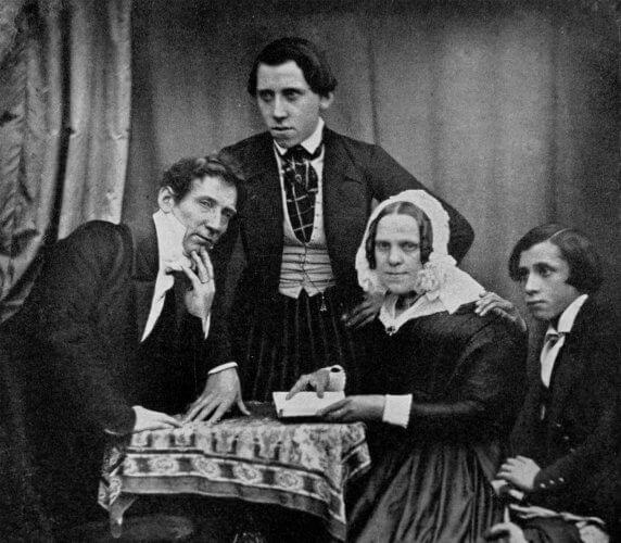 Gründerfamilie Krüss Aufnahme um 1845